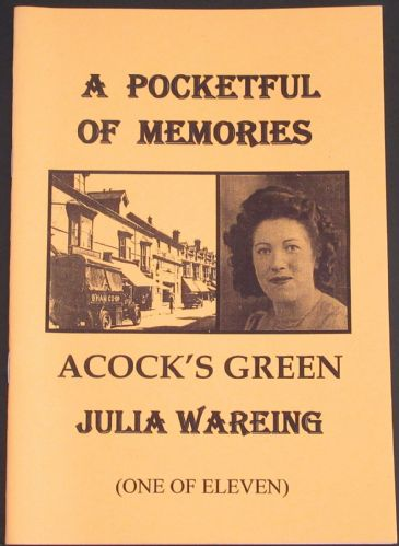 Acock's Green - One of Eleven, by Julia Wareing